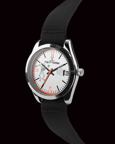 TOYPULP WHITE DIAL - GREY - ToyWatch