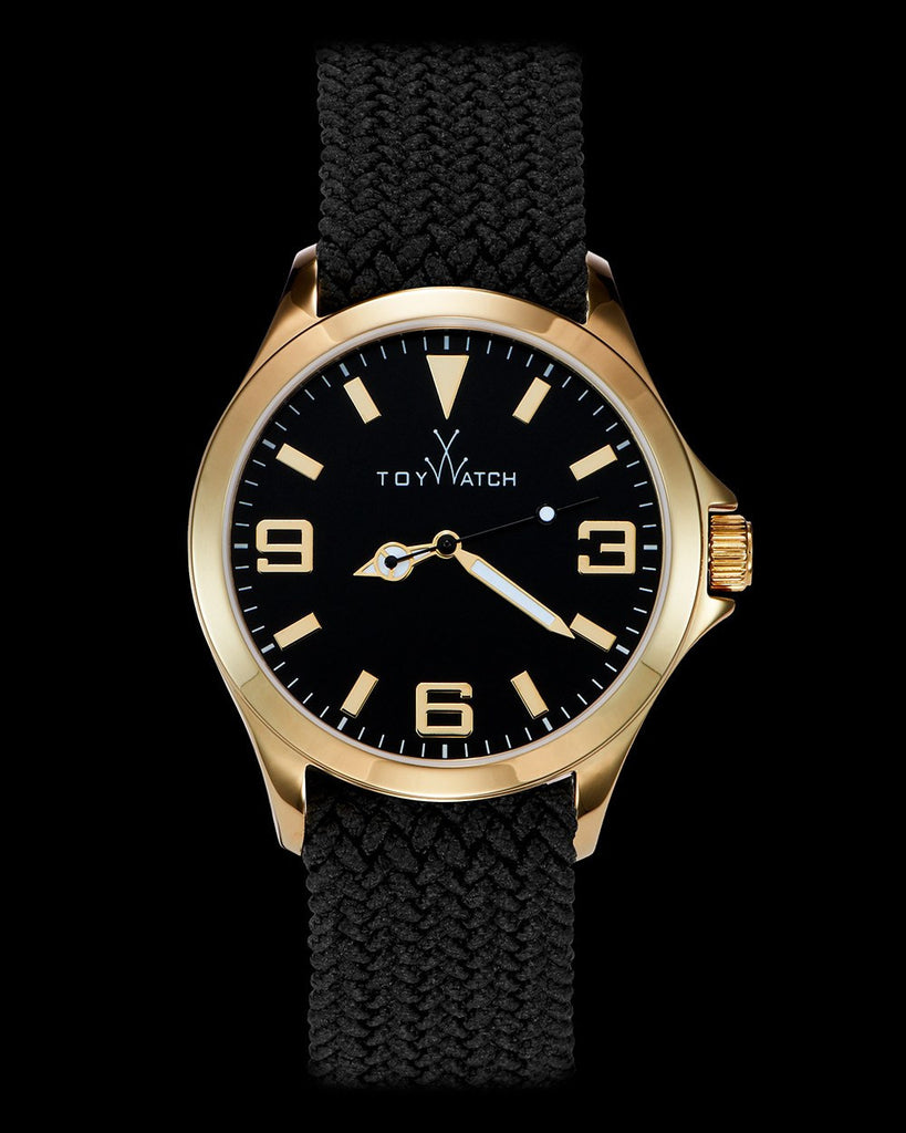 TOYCRUISE METAL BLACK AND GOLD - ToyWatch
