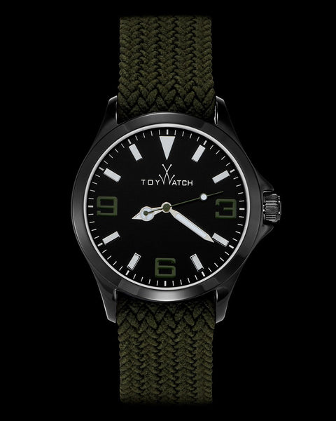 TOYCRUISE METAL HUNTER GREEN AND IP BLACK - ToyWatch