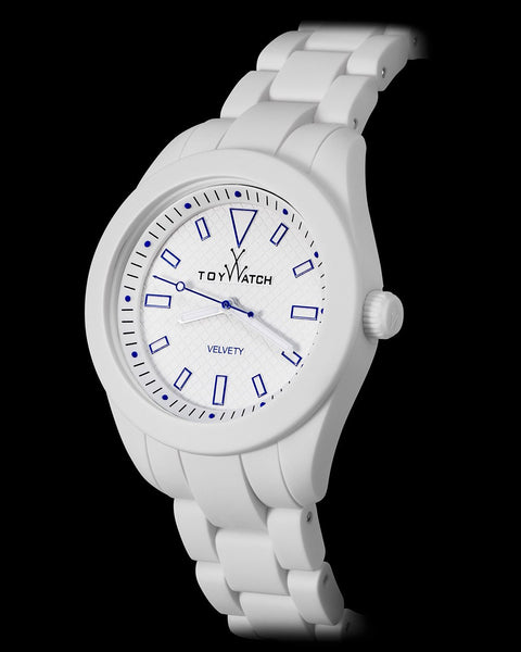 VELVETY WHITE AND BLUE - ToyWatch