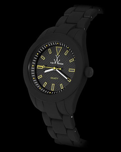 VELVETY BLACK AND YELLOW - ToyWatch
