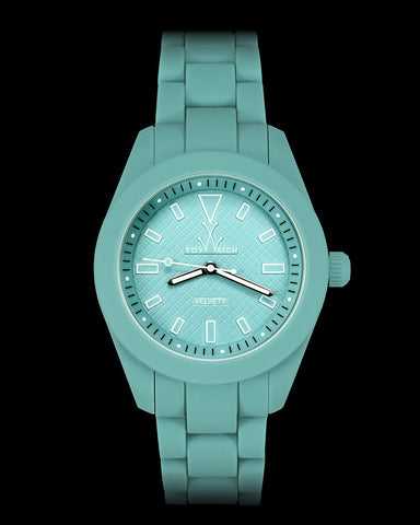 VELVETY AQUA GREEN - ToyWatch