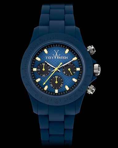 VELVETY CHRONO BLUE - ToyWatch