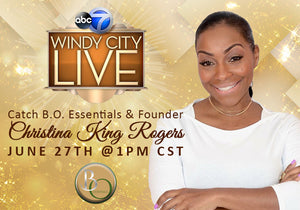 B.O.Essentials Featured On Windy City Live