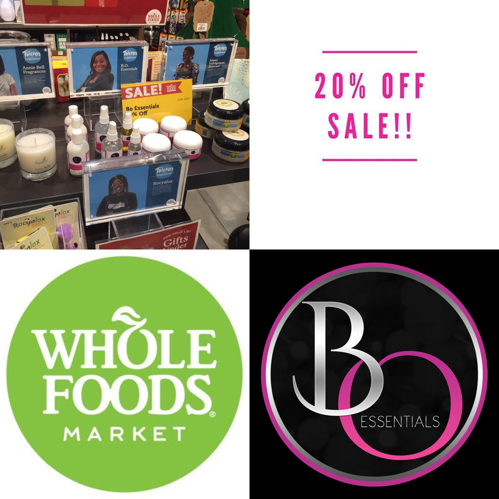 B.O. Essentials Holiday Sale ( Whole Foods Market)