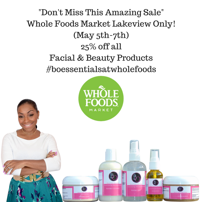 25% off Sale (Whole Foods Market Lakeview Only)