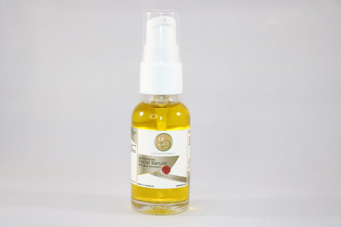 Rejuvenating Facial Serum Rose Geranium