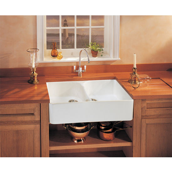 Exceptional ... Franke 35 X 22 Manor House, Double Basin, Fireclay White MHK720 35 ...