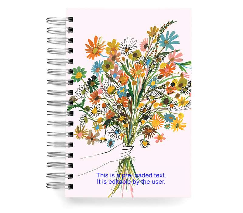 Custom notebook - design