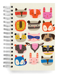 Animal faces Jumbo Journal