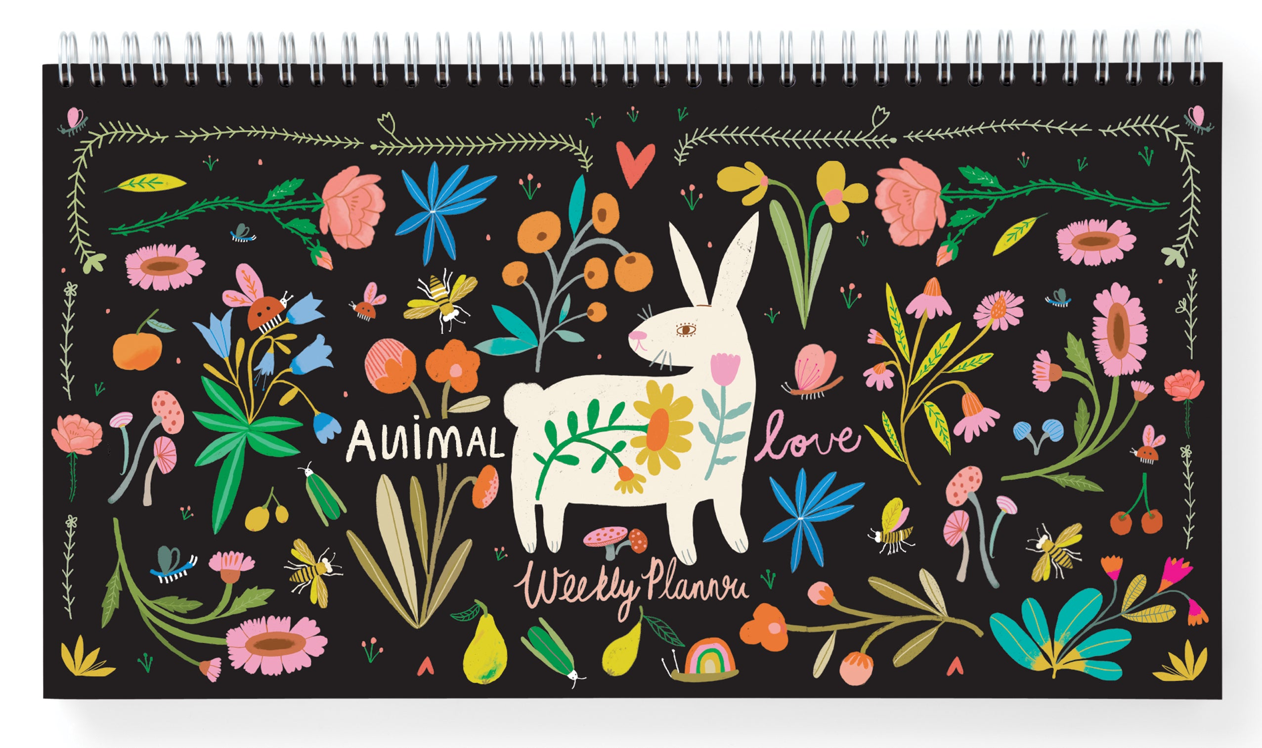 Animal Love Weekly Planner