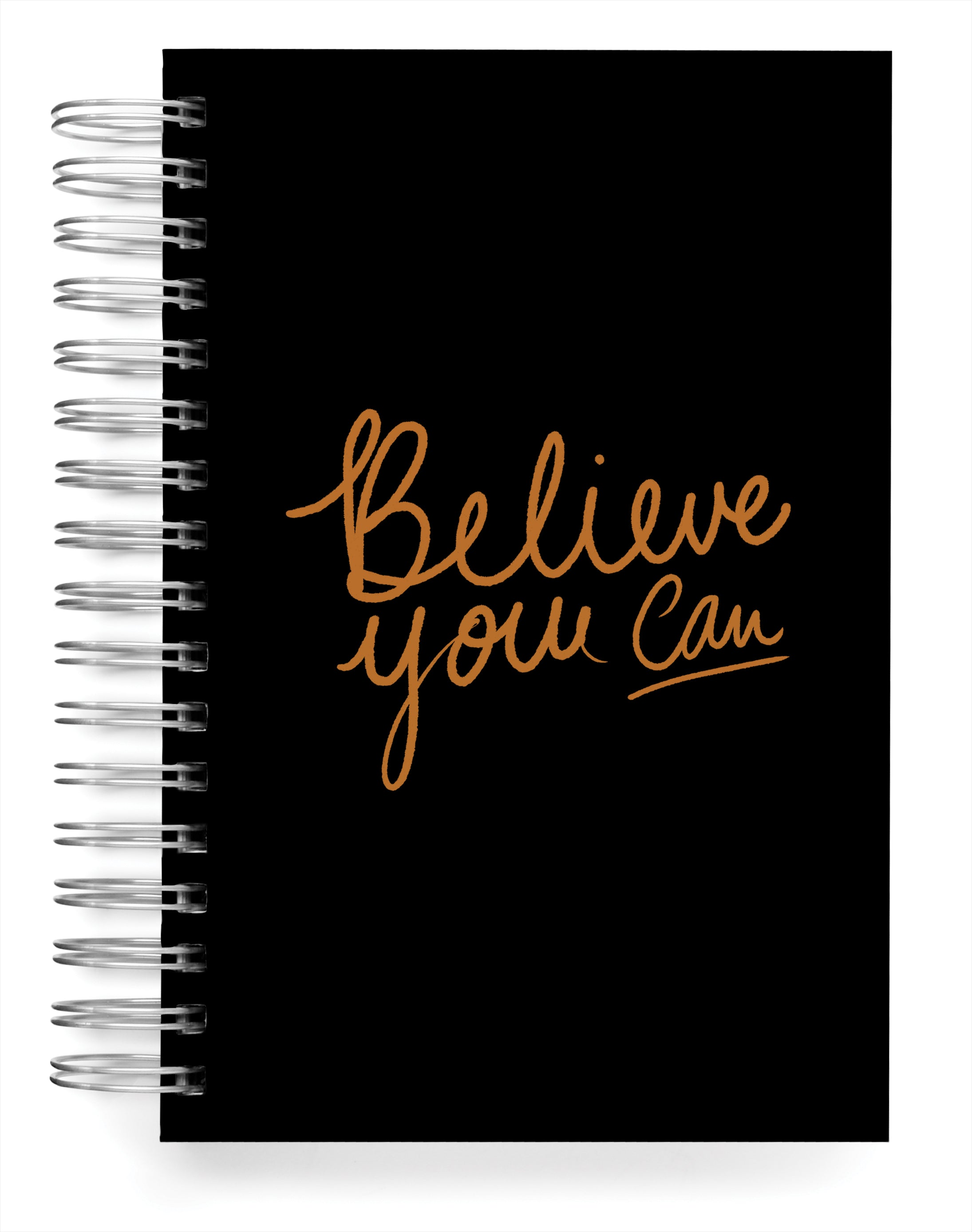 Believe you can foil Jumbo Journal