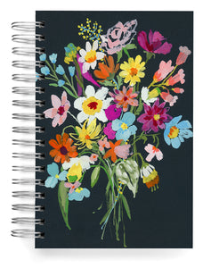 Black bouquet Jumbo Journal