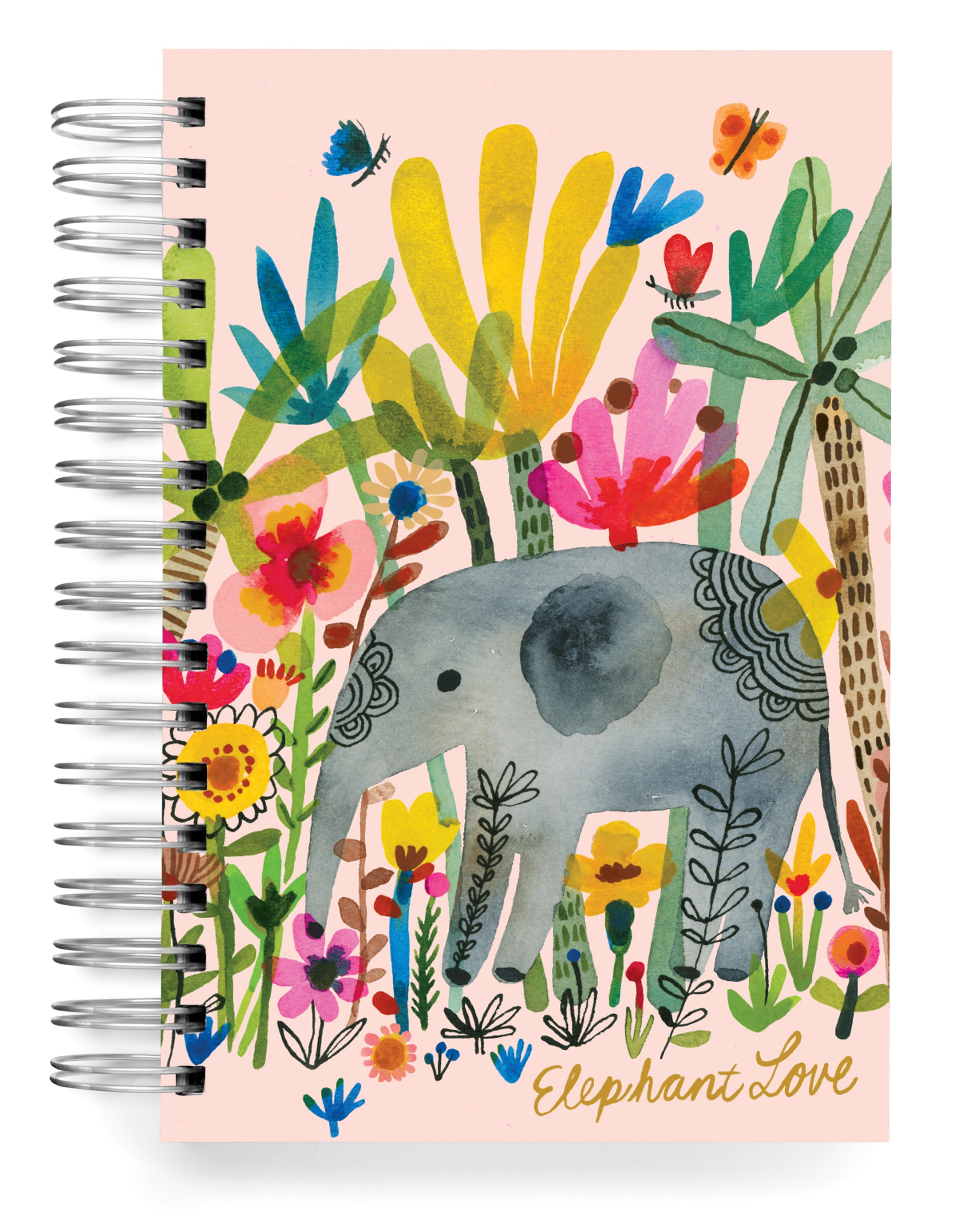 Elephant Love Jumbo Journal and Planner set