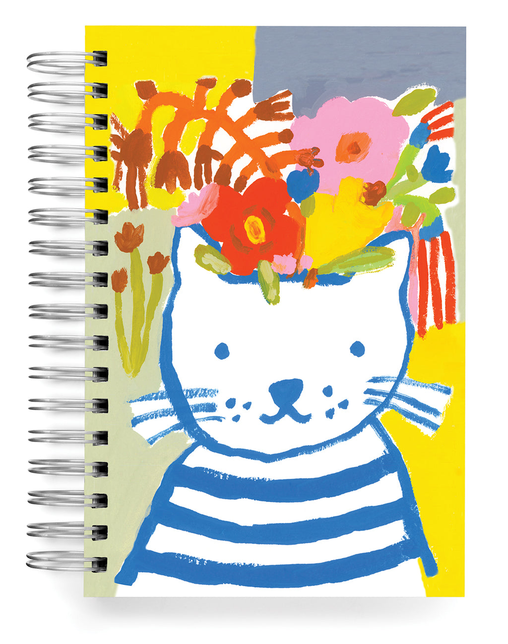 Blue cat Jumbo Journal
