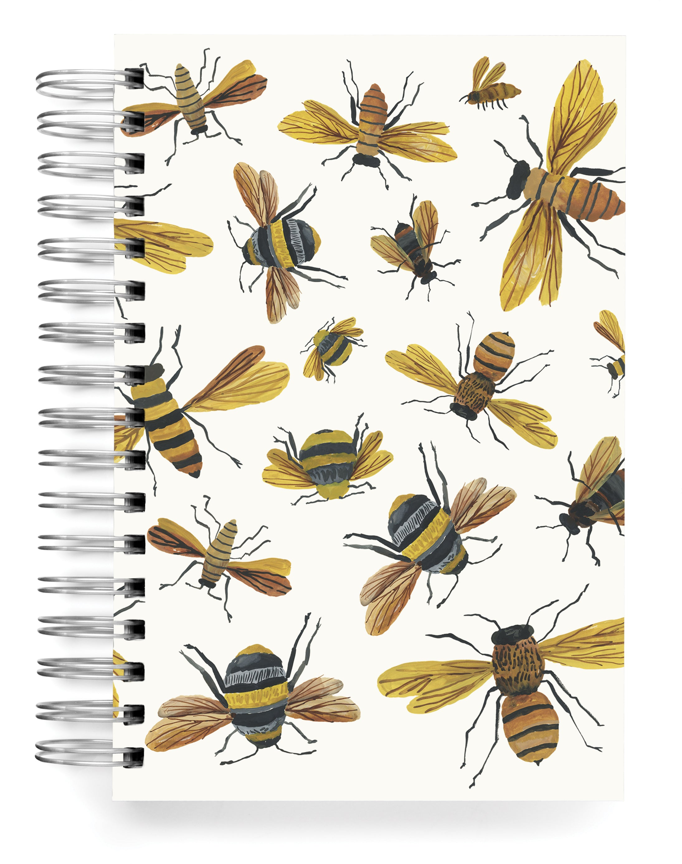 Bees Buzzing Jumbo Journal