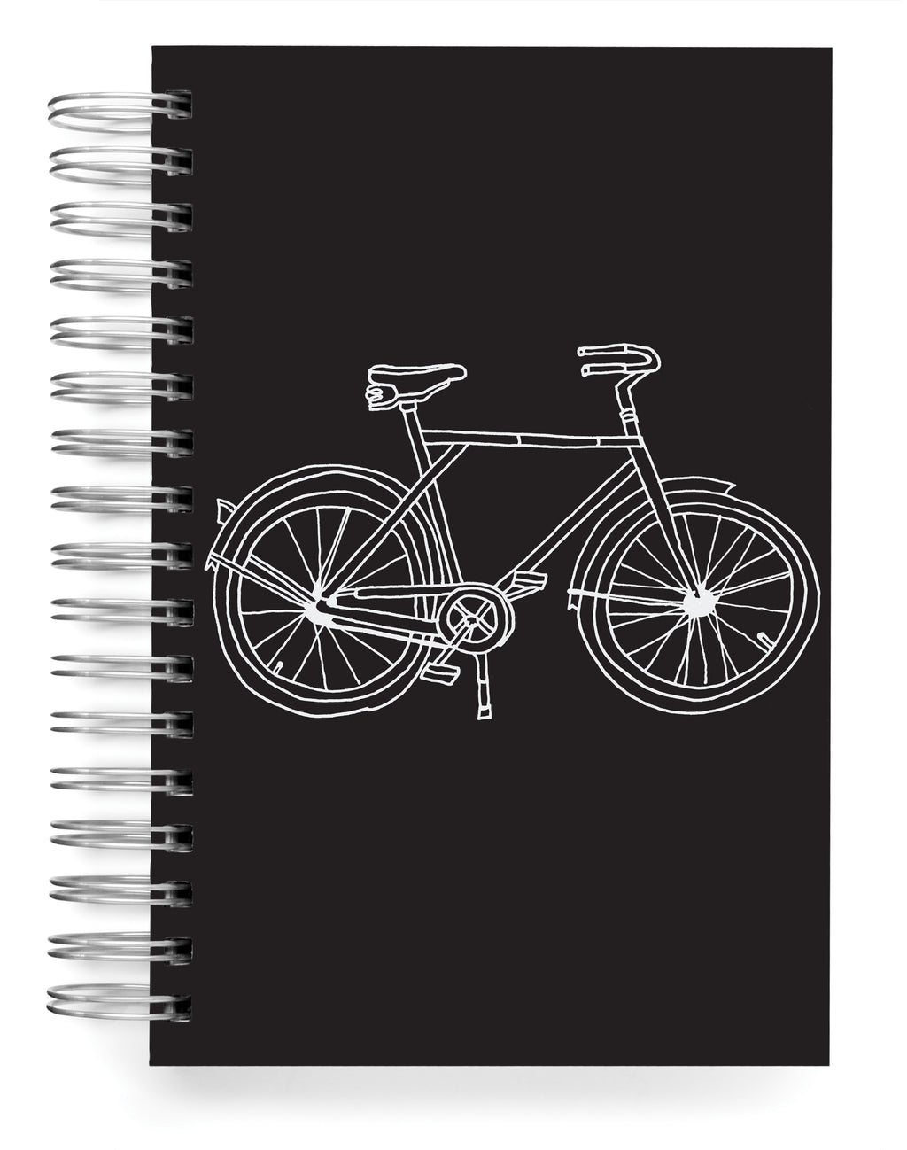 Silver bike foil Jumbo Journal