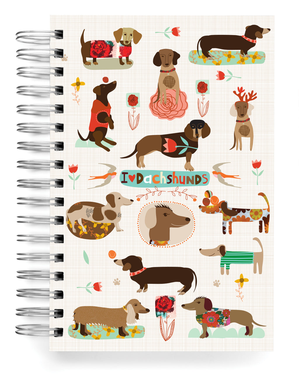 Dachshund Jumbo Journal