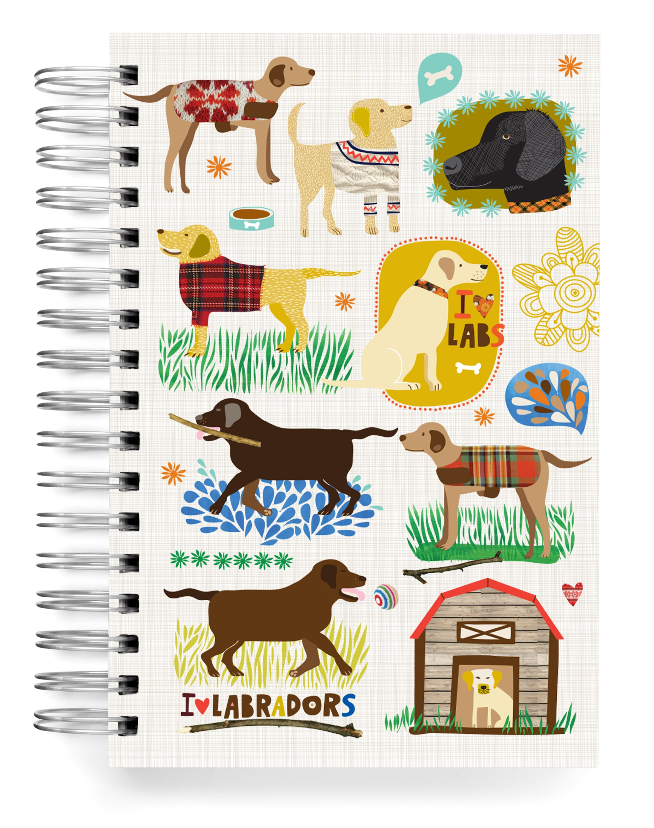 Labradors Jumbo Journal