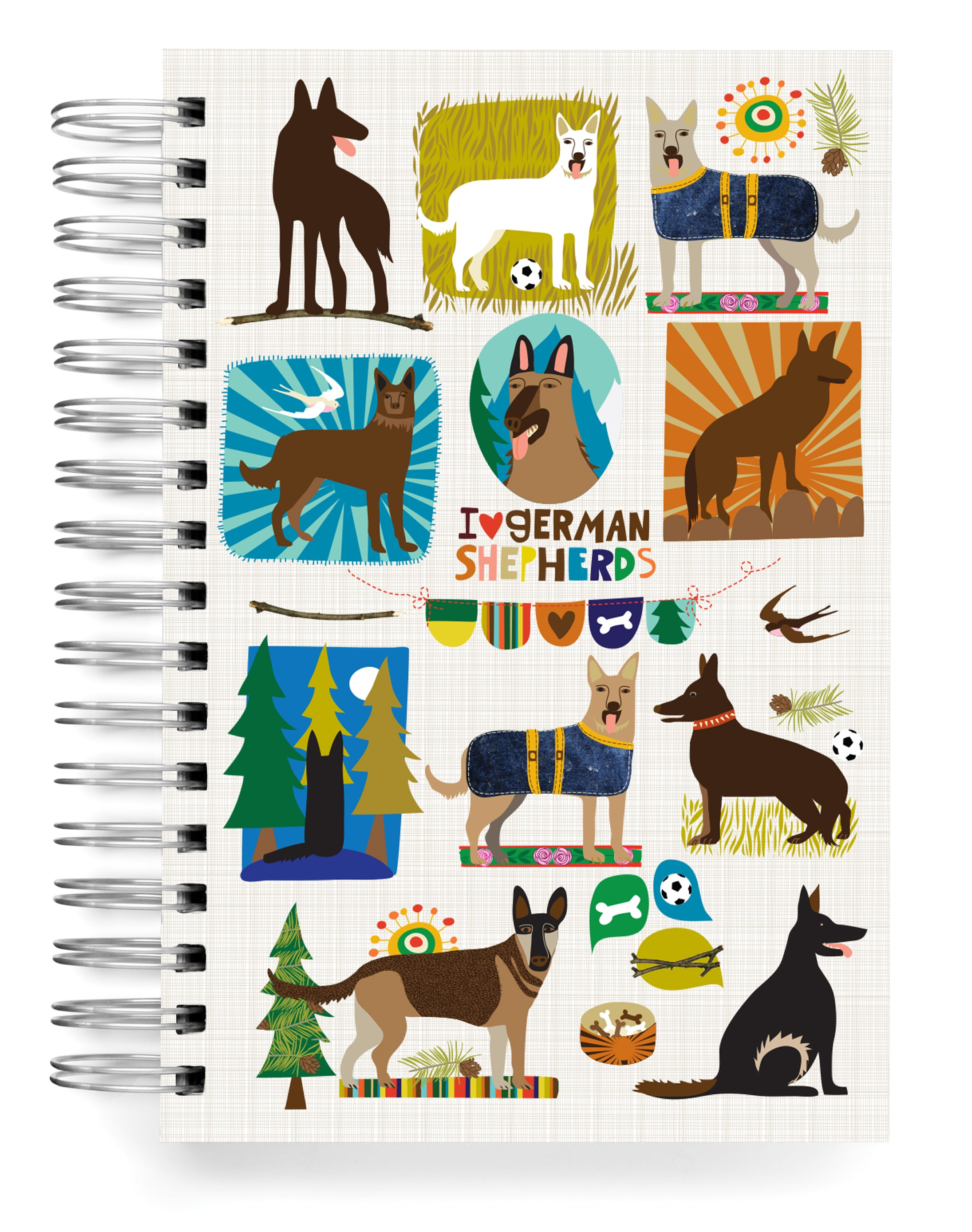 German Shepherd Jumbo Journal