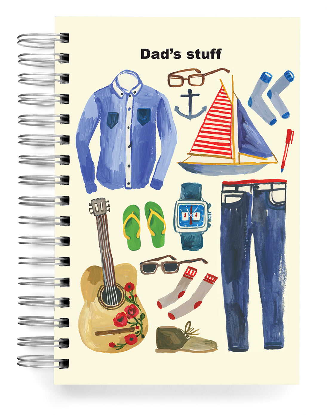 Dad's Stuff PERSONALIZED Jumbo Journal