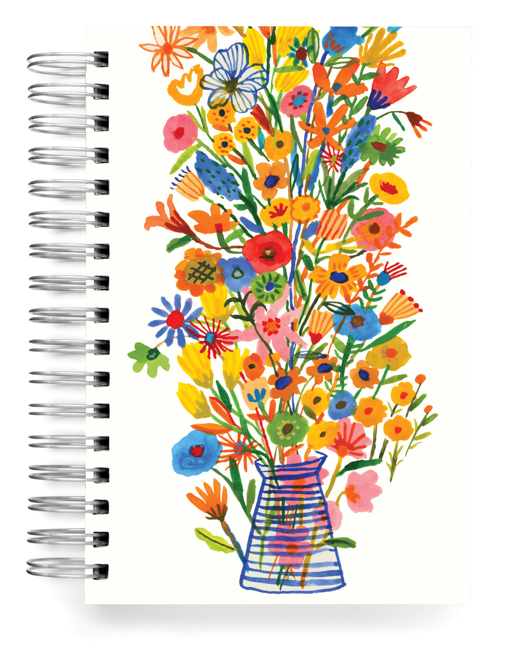 Striped vase Jumbo Journal