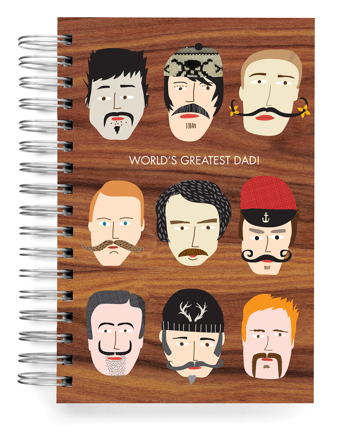 World's Greatest Dad PERSONALIZED Jumbo Journal