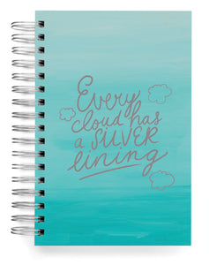 Every cloud has a silver lining Jumbo Journal