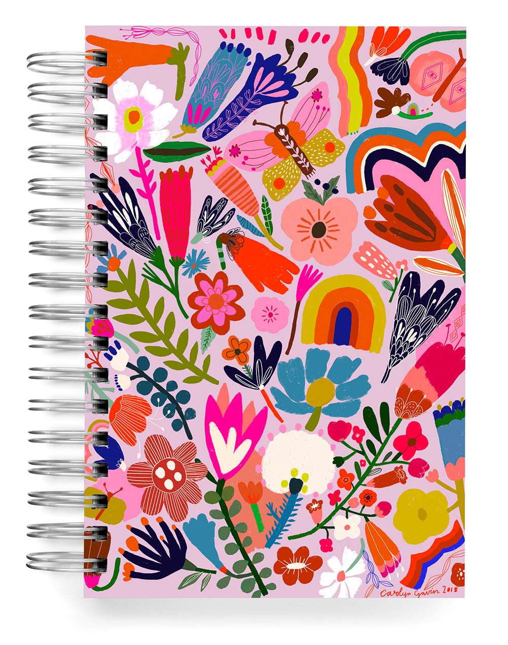 Flower Power Jumbo Journal