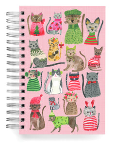 Holiday Cats Jumbo Journal