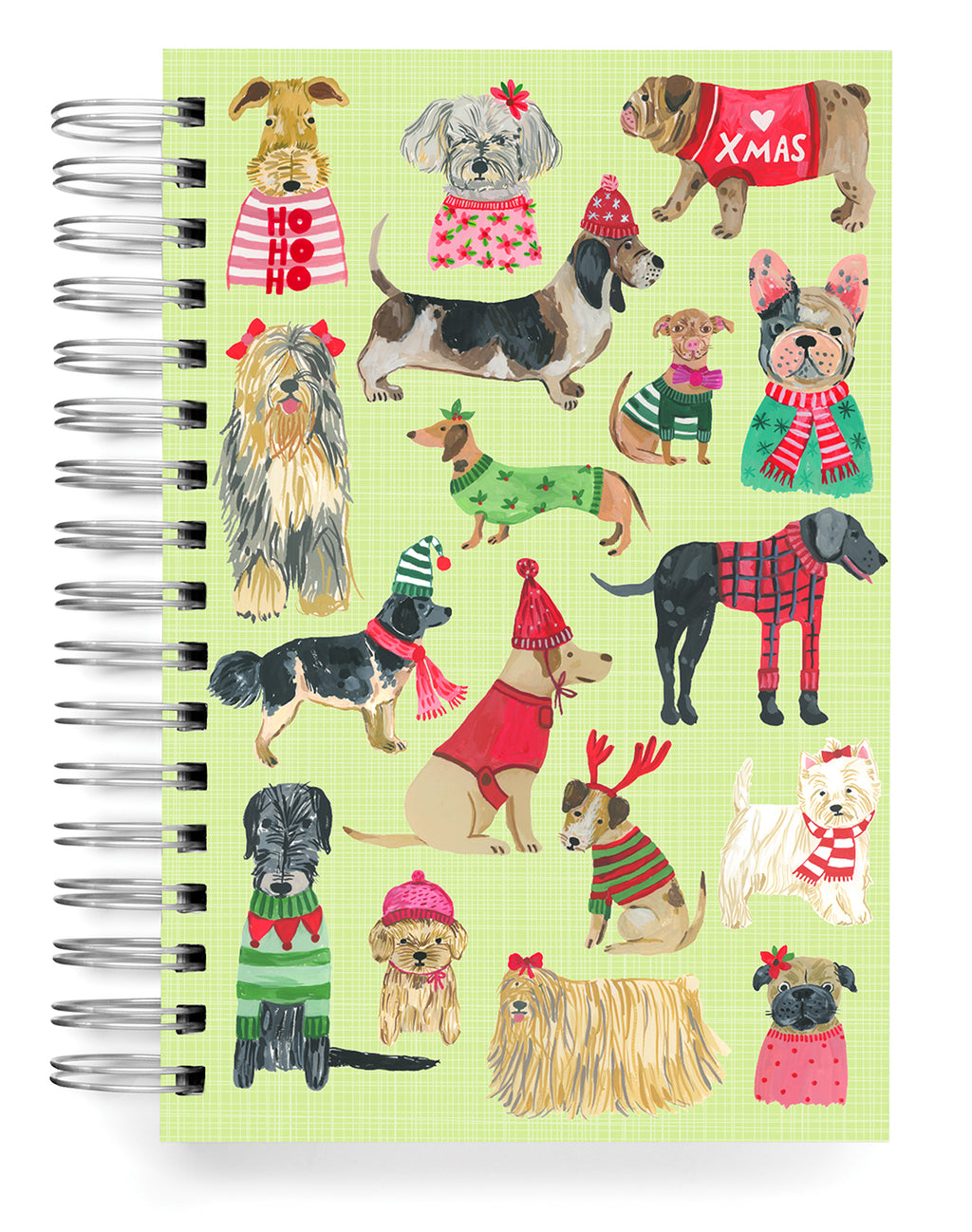 Holiday Dogs Jumbo Journal