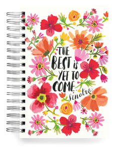 Ecojot The Best is Yet to Come Jumbo Journal