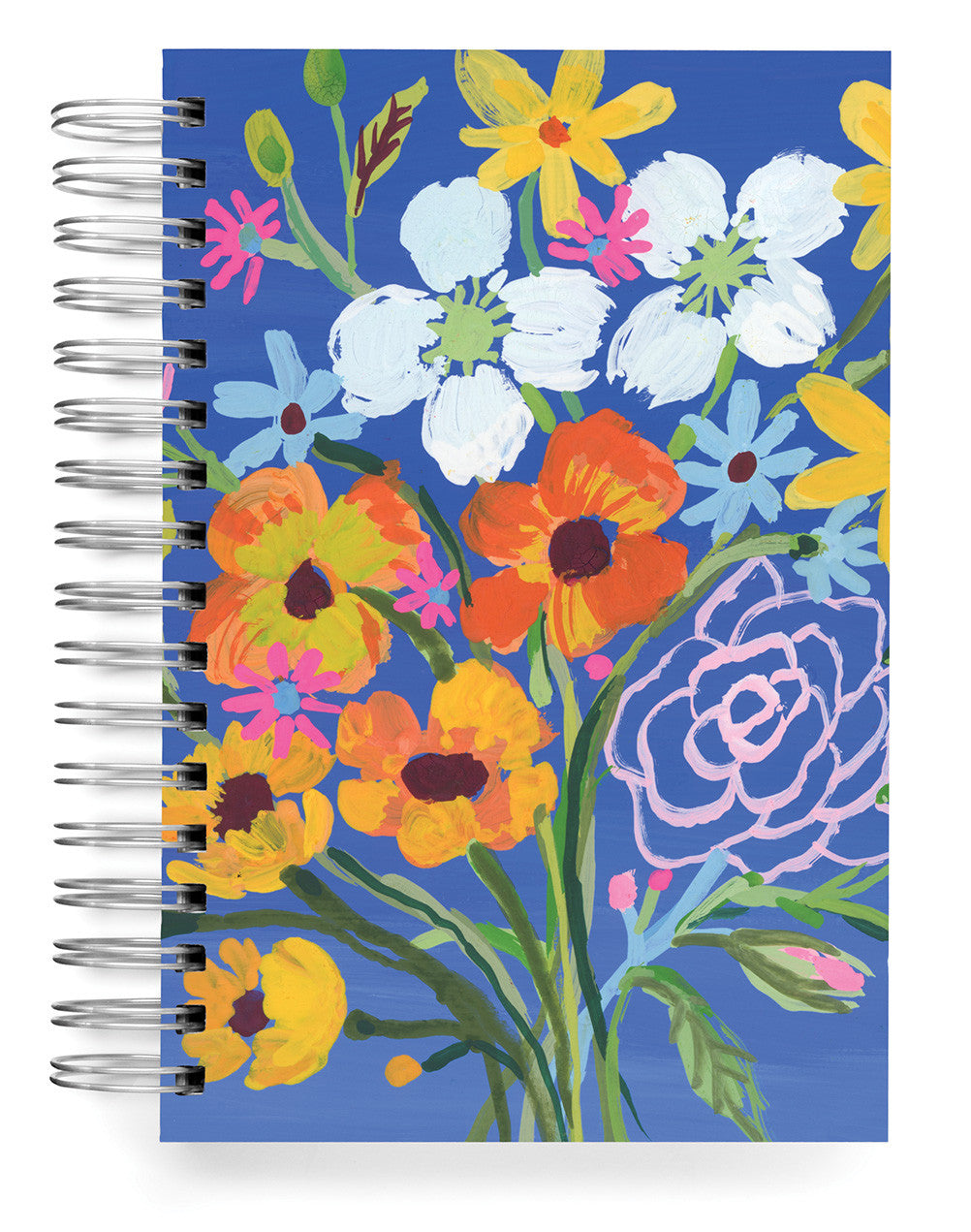 Blue Flowers Jumbo Journal