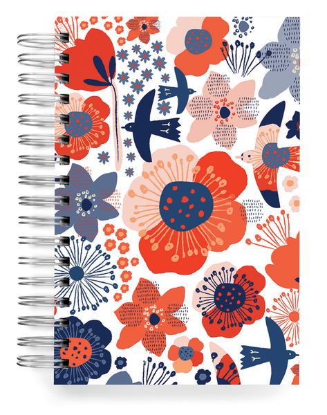 Ecojot Birds & Flowers Jumbo Journal