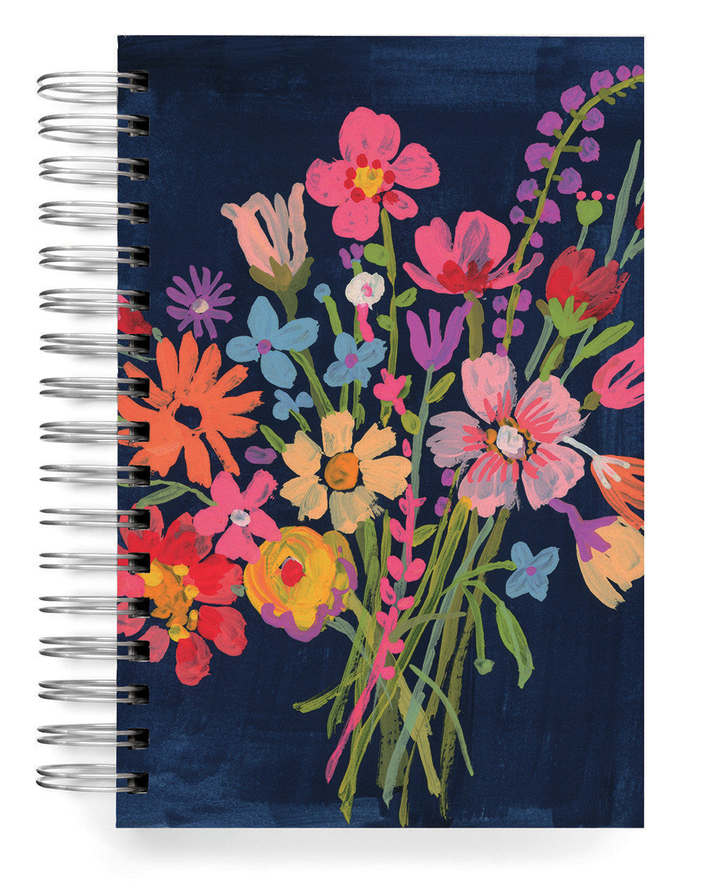 Ecojot Bouquet on blue Jumbo journal