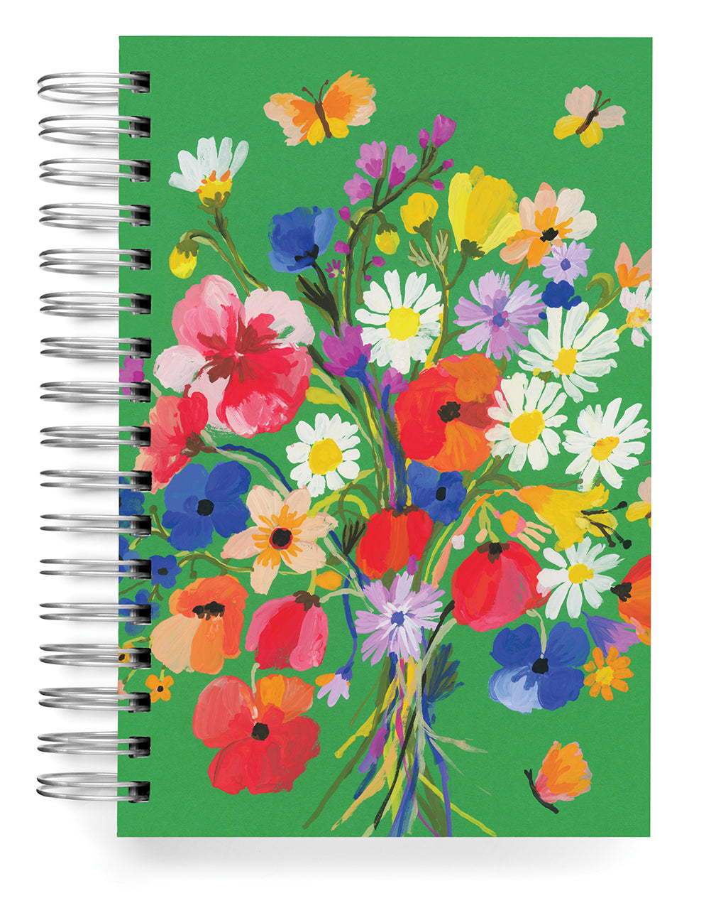 Bouquet on Green Jumbo Journal