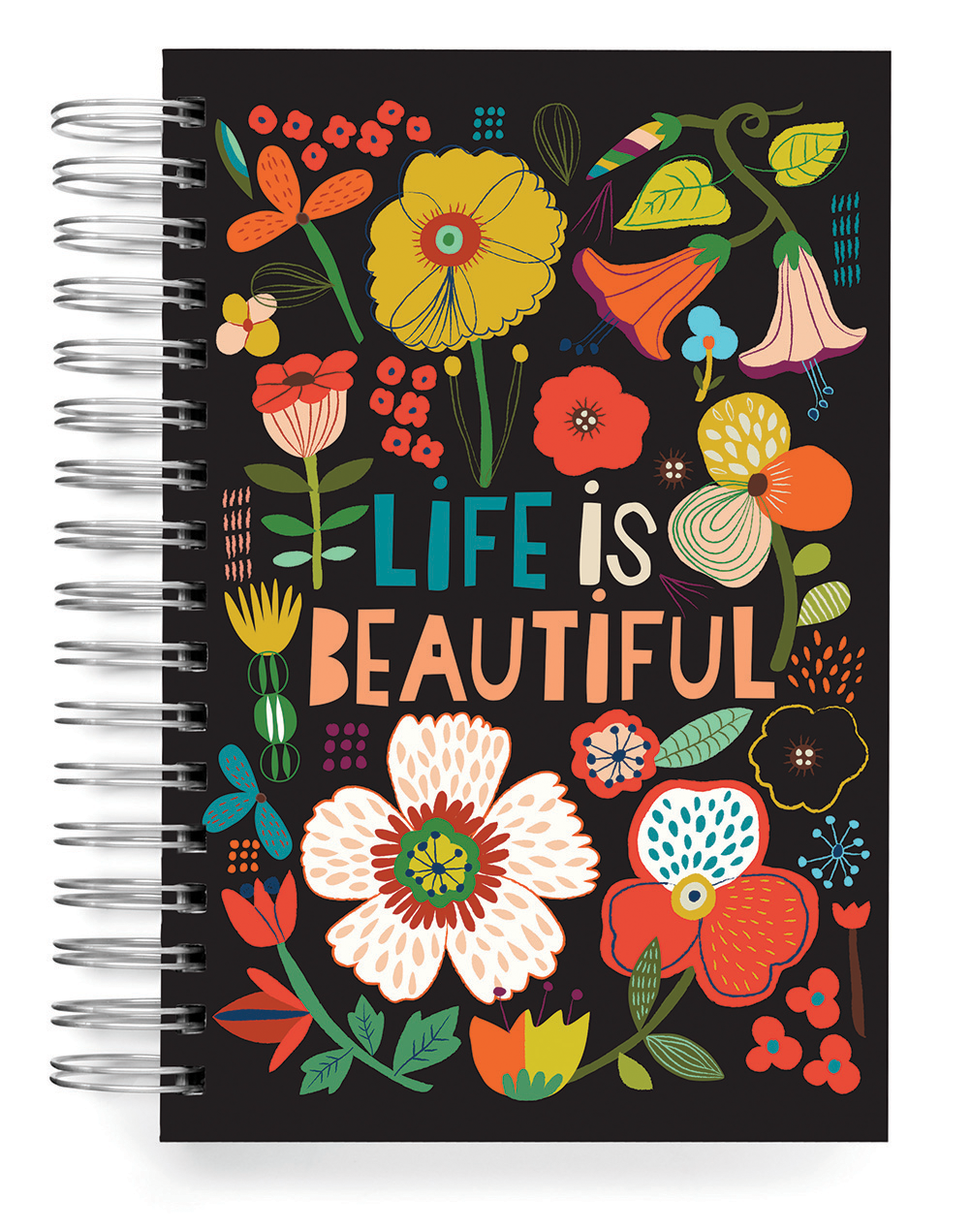 Ecojot Life is Beautiful Jumbo Journal