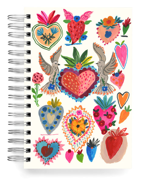 Love Hearts Jumbo Journal