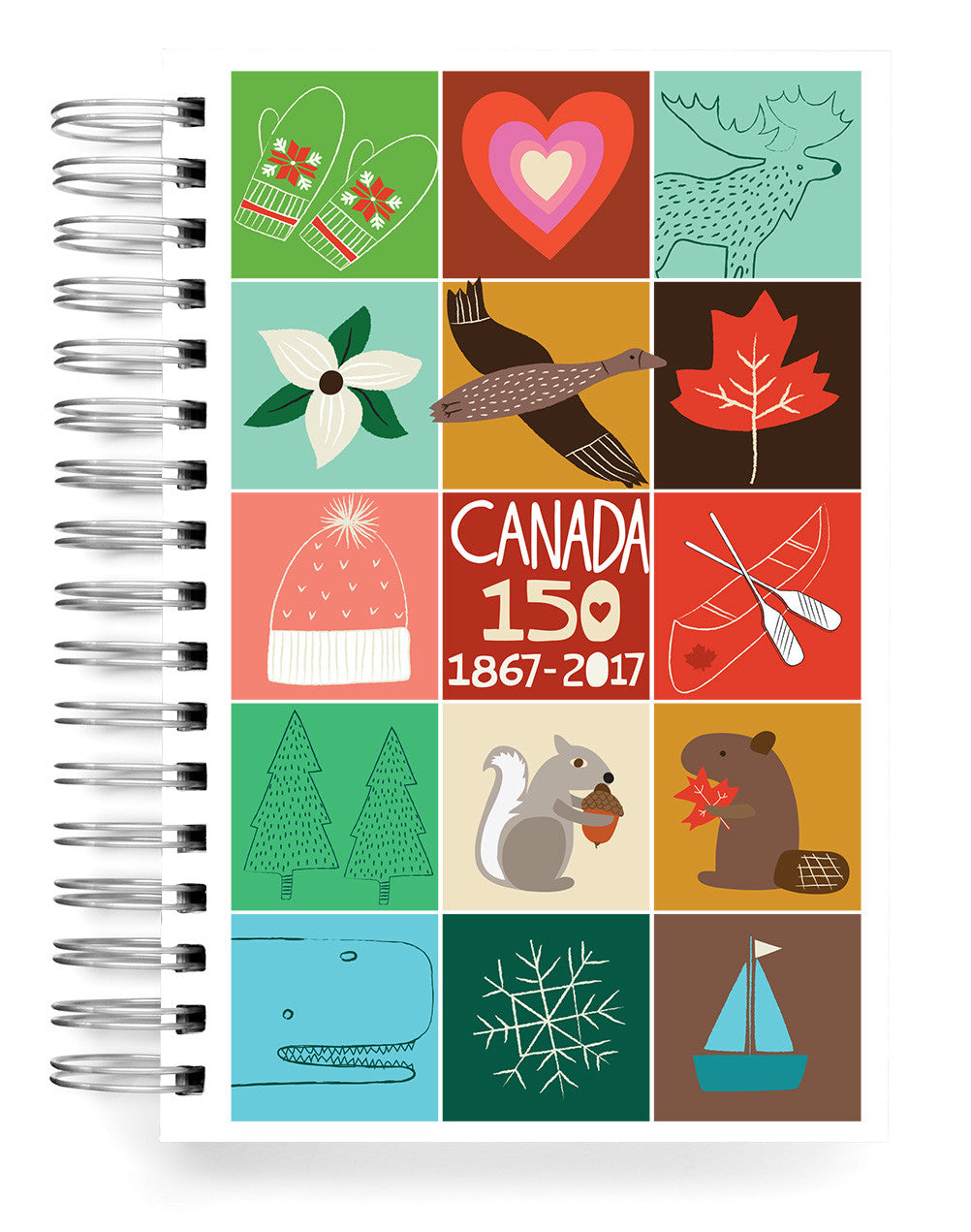 Canada squares 150 Jumbo Journal
