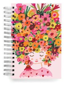 Flower Hair Carolyn Gavin Designer Sketchbook