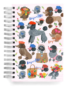 Poodles Jumbo Journal