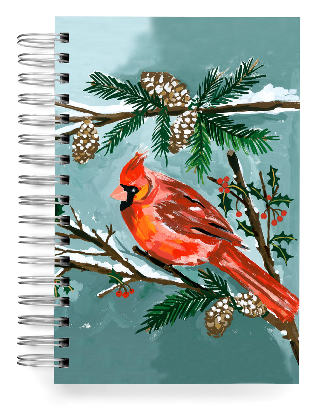 Red Cardinal Jumbo Journal