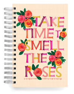 Take time to smell the Roses Jumbo Journal