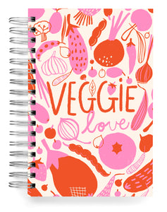 Veggie love cream Jumbo Journal