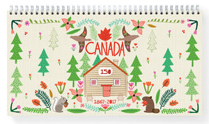 Cabin 150 Weekly Planner