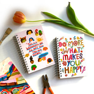 Do more of what makes you happy Jumbo Journal