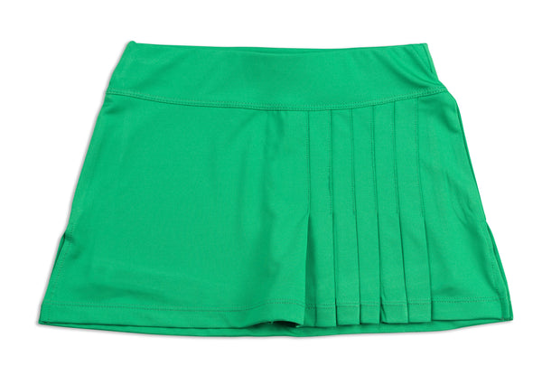 Everyday Club Skirt Green - Little Miss Tennis