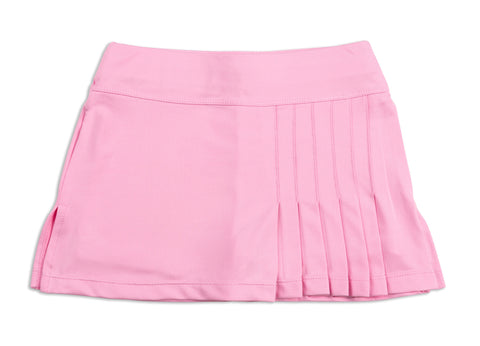 Everyday Club Skirt Pink - Little Miss Tennis