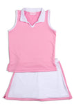 Everyday Club Skirt Pink Border