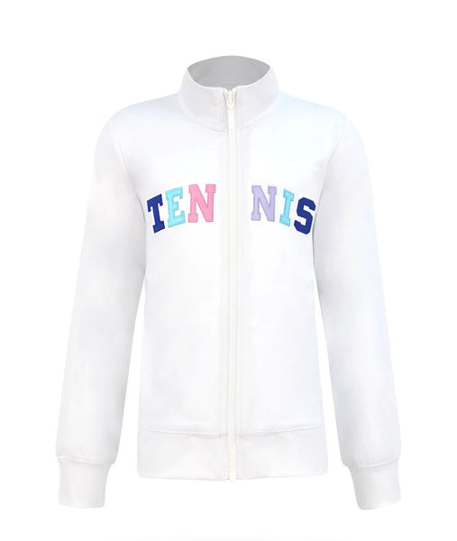 #A Bubble Gum Tennis Jacket - New!